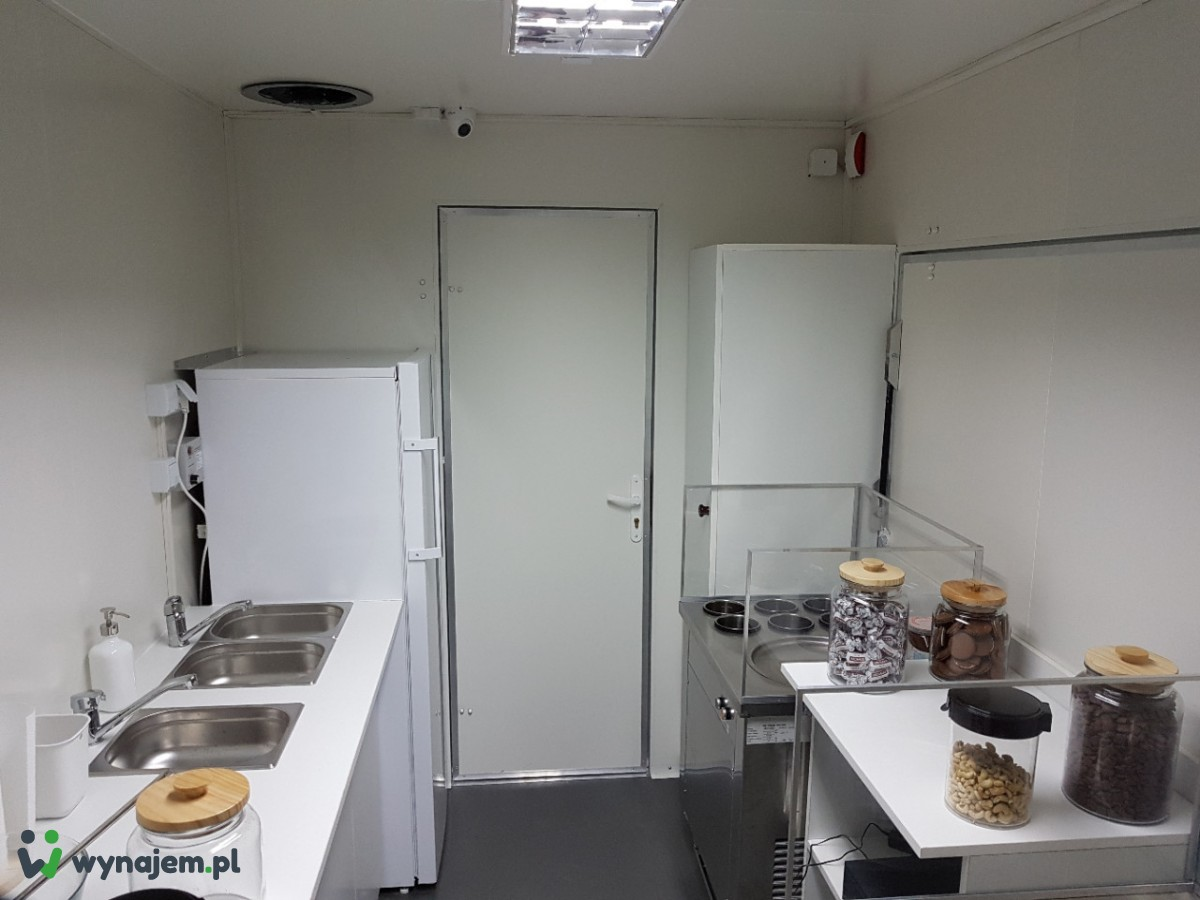 Przyczepa Lodziarnia lody tajskie food truck wynajmę najem