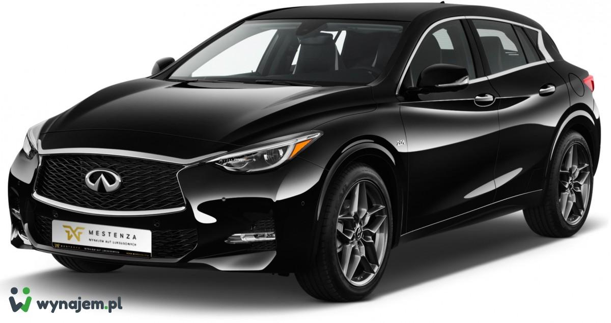 Wypożyczalnia samochodów Trójmiasto Infiniti QX30