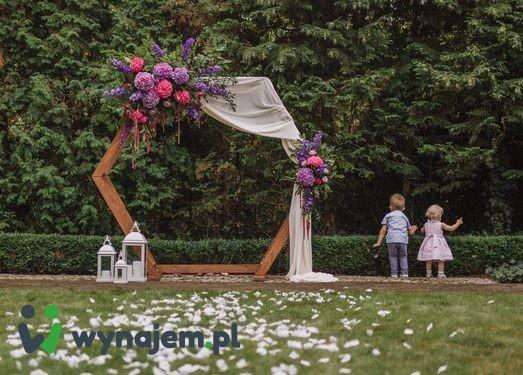 Pergola na ślub plenerowy - wynajem