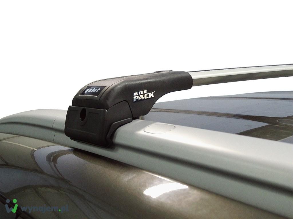 Wynajem bagażnika dachowego Inter Pack Quiet Q104