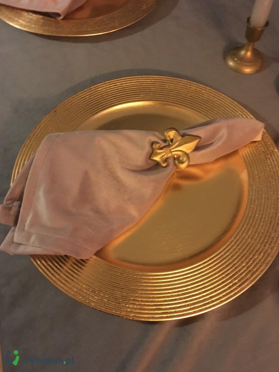Podtalerze złote - wynajem na wesele