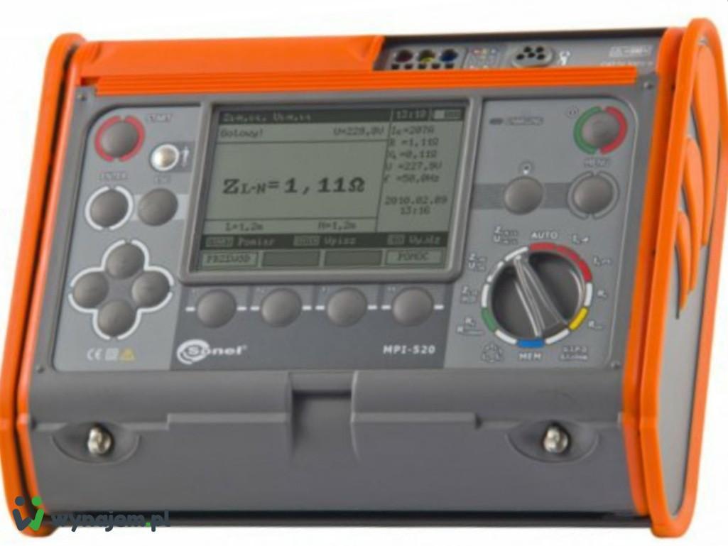 MPI 520 pomiary Elektryczne