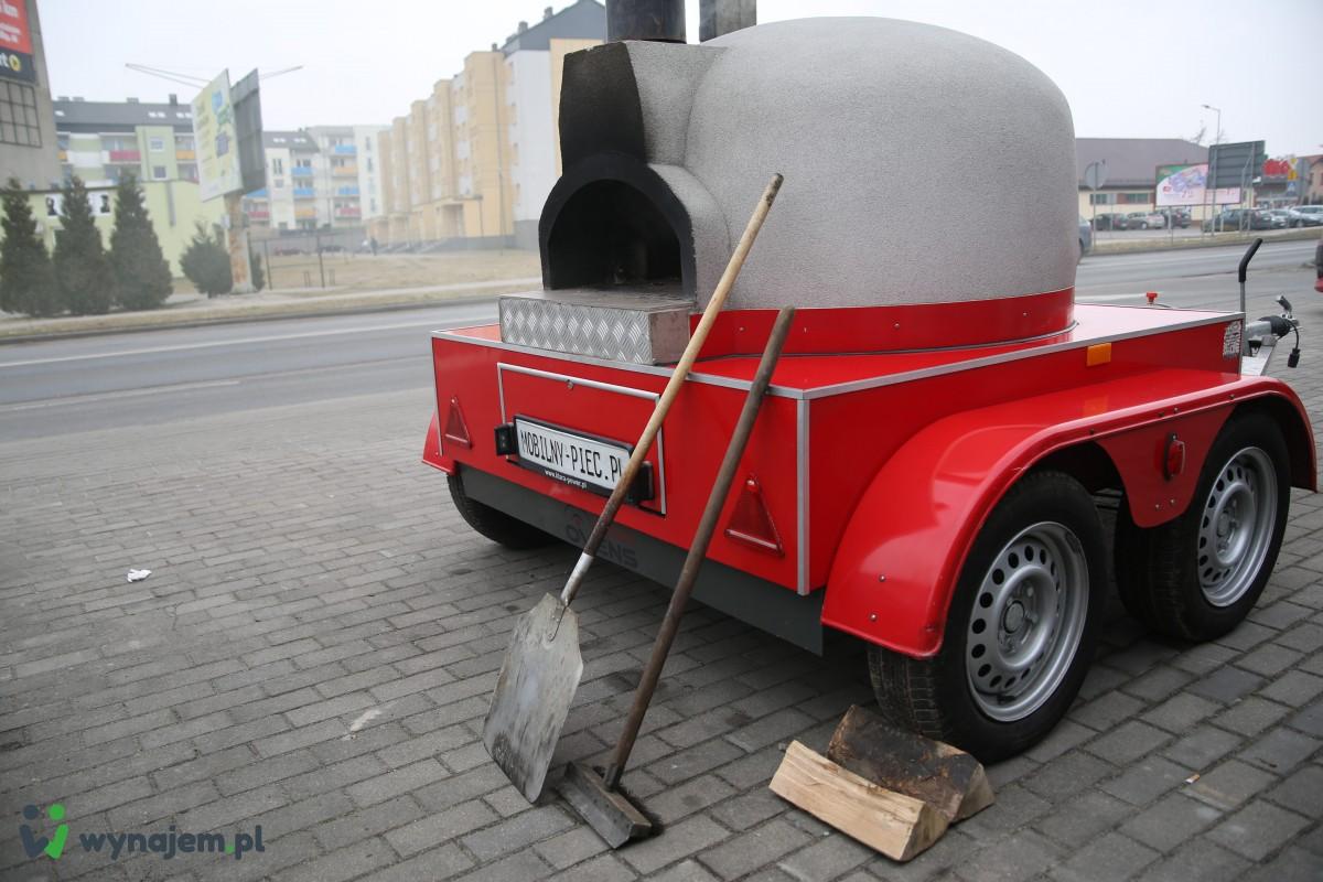 Food Truck - wynajem - przyczepa gastronomiczna - Mobilny piec