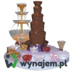 Wynajem fontanny czekolady / alkoholu