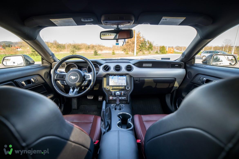 Wynajem samochodów sportowych - Nowy Sącz - MUSTANG