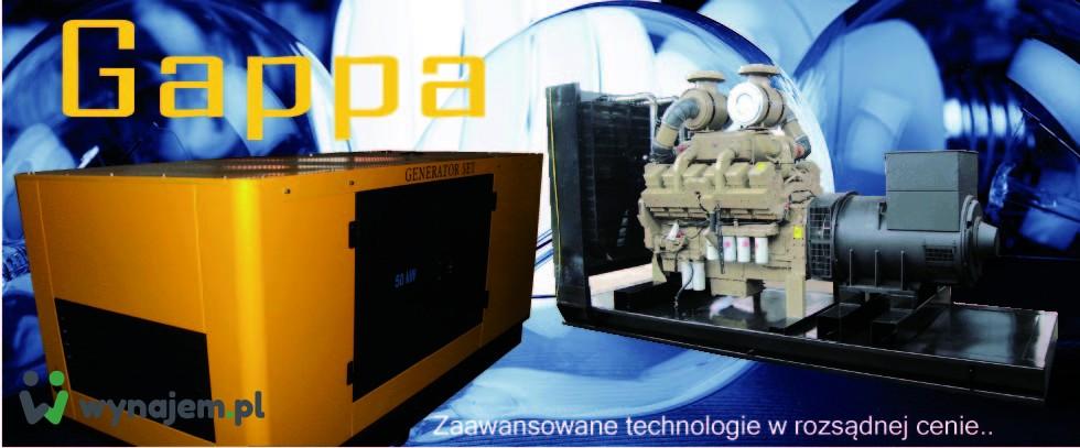 Wynajmę agregaty prądotwórcze 5, 10, 15, 25, 30, 50, 60, 75, 80, 200 kW