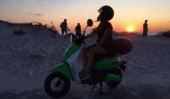 Wynajem skutera Аренда Оренда скутера Rent scooter Uber eats biznes